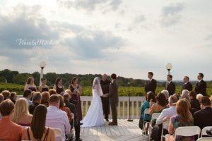 Patio ceremony, Wedding Receptions and Ceremonies at Casa Larga Vineyards