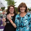 Wine tasting, Purple Foot Festival at Casa Larga Vineyards