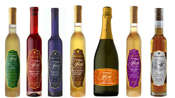 Fiori Ice Wine Line Up, Casa Larga Vineyards