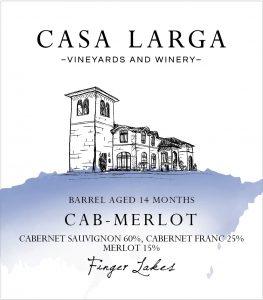 Casa Larga Vineyards Cab-Merlot