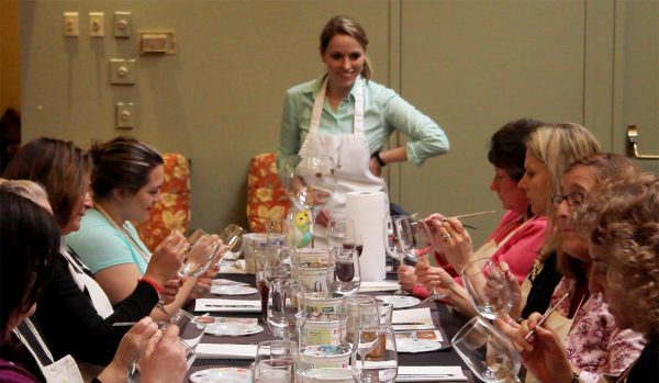 Sip and Paint Series at Casa Larga Vineyards