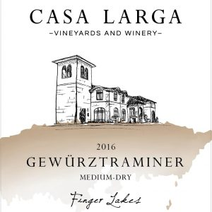 2016 Casa Larga Vineyards Gewurztraminer