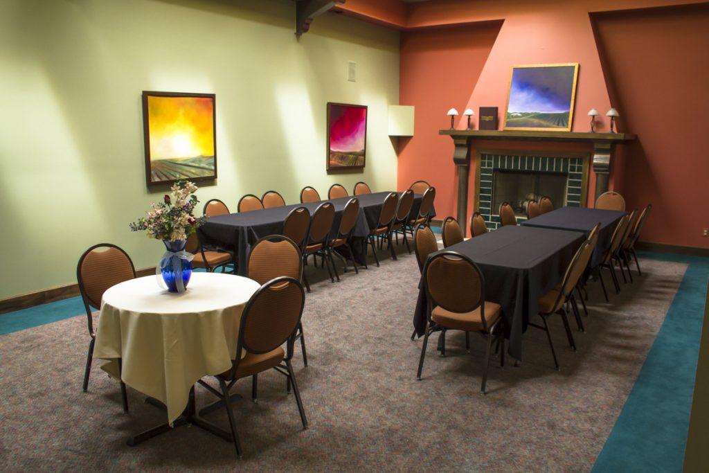 Upstairs Meeting Area, Casa Larga Vineyards