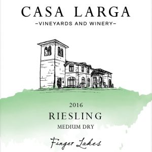 2016 Casa Larga Vineyards Medium Dry Riesling