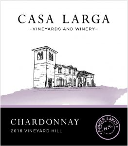 2016 Casa Larga Vineyards Vineyard Hill Chardonnay