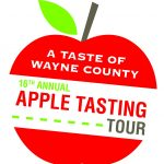Wayne County Apple Tasting Tour Logo