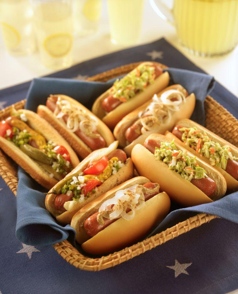 Hot Dog Challenge at Casa Larga Vineyards