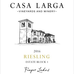 2016 Casa Larga Vineyards Estate Block 1 Riesling