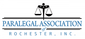 Paralegal Association of Rochester, NY Logo