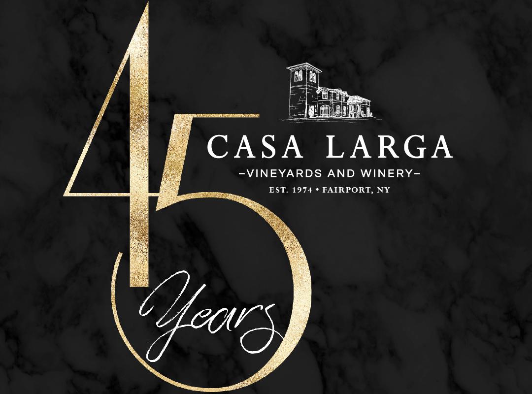 45th Anniversary at Casa Larga Vineyards