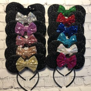 Minnie Mouse ears, Mom 2 Mom Vendor, Holiday Craft Marketplace at Casa Larga Vineyards