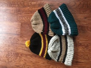 Knitted hats, Stellar Sprays, Holiday Craft Marketplace at Casa Larga Vineyards
