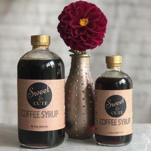 Coffee syrup, Sweet and Cute, Holiday Craft Marketplace at Casa Larga Vineyards