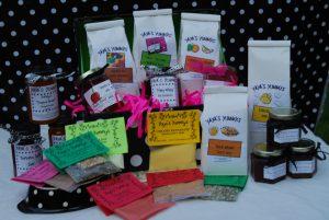 Gift Basket, Yaya's Yummys, Holiday Craft Marketplace at Casa Larga Vineyards