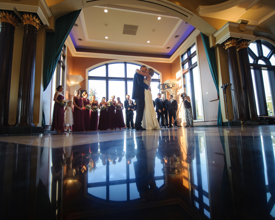 Bridal party, Wedding Ceremonies and Receptions at Casa Larga Vineyards