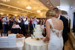 Couple, Cake Cutting, Wedding Ceremonies and Receptions at Casa Larga Vineyards
