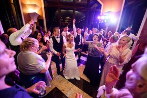 Wedding Party Dancing, Wedding Ceremonies and Receptions at Casa Larga Vineyards