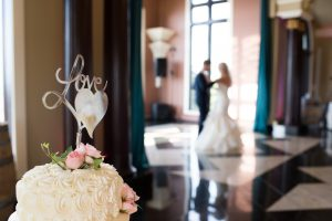 Wedding Cake, Couple, Wedding Ceremonies and Receptions at Casa Larga Vineyards