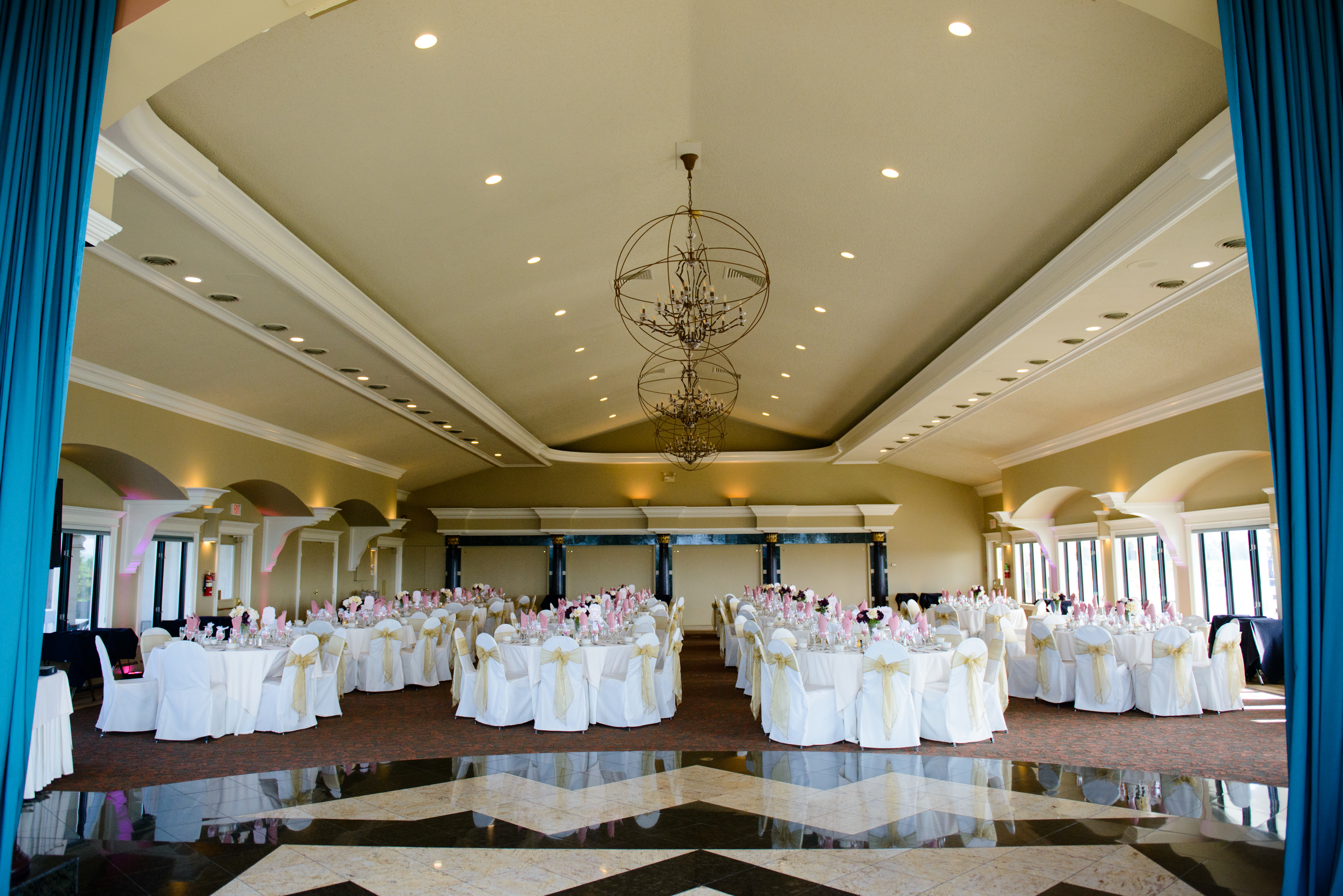 Special Events Room Set Up at Casa Larga Vineyards