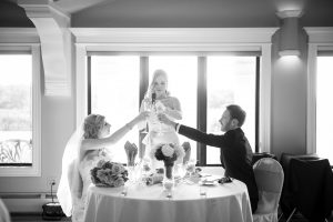 Wedding Toast, Wedding Reception at Casa Larga Vineyards