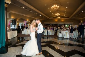 Couple's First Dance, Wedding Receptions at Casa Larga Vineyards