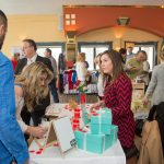 Customers and Vendors at Ice Wine and Culinary Festival at Casa Larga Vineyards
