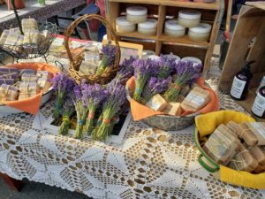 Lavender goods from Lavendar View Farms