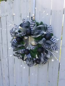 Paperwhite Custom Floral Wreath Holiday Craft Marketplace