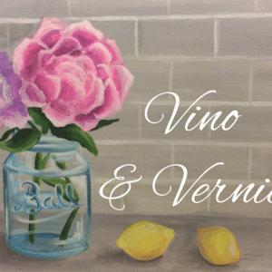 Peonies & Lemons Canvas