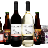 Eat Local, Drink Local, Gift Baskets at Casa Larga Vineyards