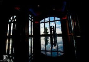 Couple in Vintage room, Wedding Ceremonies and Receptions at Casa Larga Vineyards